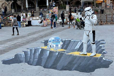 imagenes 3d en el suelo graffitis 3d en el suelo