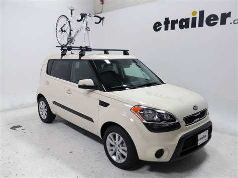 kia soul yakima forklift roof mounted bike carrier fork