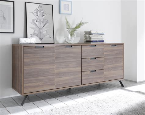 Palma Sideboard Three Doors/Three Drawers   Walnut