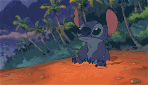 stitch gif find share on giphy castle animated gif