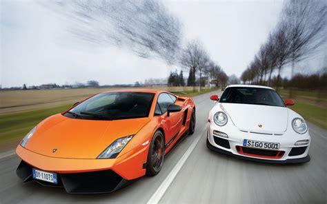 Lamborghini Gallardo Superleggera Porsche 911 Gt3 Rs A