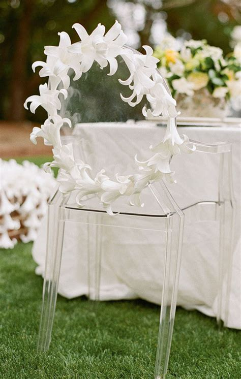 Modern Wedding Chairs 2014 modern wedding ghost chair decorations archives weddings romantique