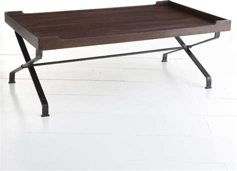 Collapsible Coffee Table Collapsible Industrial Table Modern Coffee Tables Dallas By Wisteria