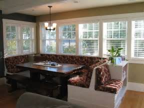 Dining Room Nook Windowed Breakfast Nook Traditional Dining Room Other Metro By Madson Design