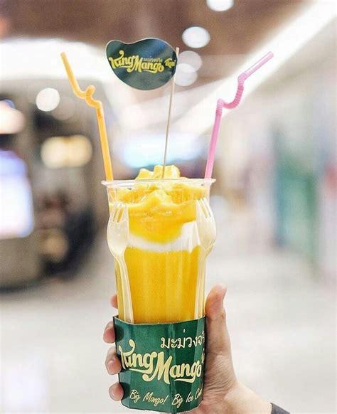King Chaa Thai Minuman Kekinian Jus Teh Kekinian food war 4 mango thai paling populer siapa juaranya
