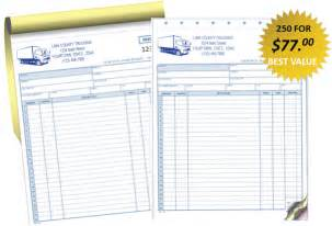 trucking invoices