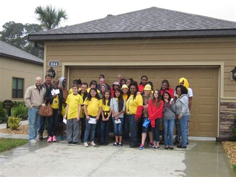 the golfcoursehome life ici homes starts construction at volusia students learn about home building ici