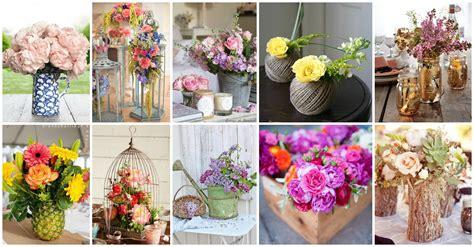 floreros y jarrones de vidrio fascinantes floreros y jarrones para tu hogar