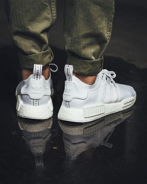 Adidas Nmd Primeknit Japan White now available adidas nmd r1 primeknit japan white kicksonfire