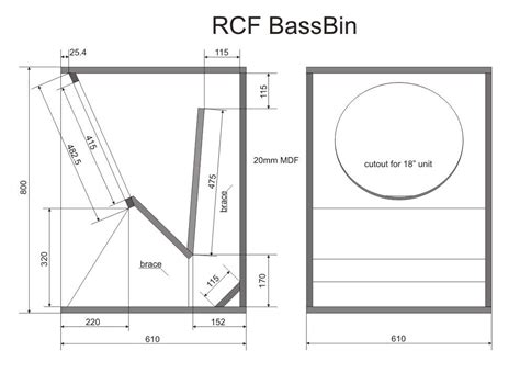 Box Fan Ak Ukuran 12 rcf bass bin acoustic bass and loudspeaker