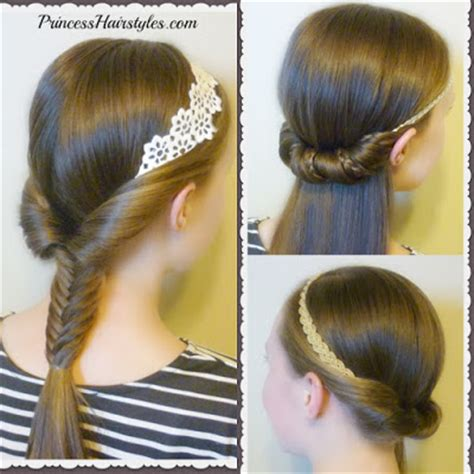 hairstyles with a headband 3 and easy hairstyles for school using headbands