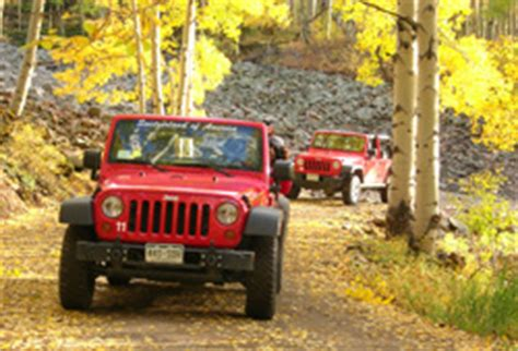 Jeep Rental Ouray Ouray Jeep Rentals Jeep Tours In The San Juan Mountains
