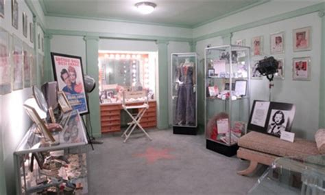 hollywood actress makeup room max factor s world famous makeup rooms the hollywood museum