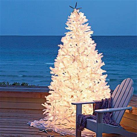 white outdoor christmas tree christmas pinterest