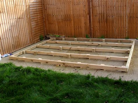 Timber Shed Base by Cousins Conservatories Garden Buildings Garden