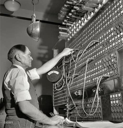 Switch Board pennsylvania railroad switchboard 1943 in the world