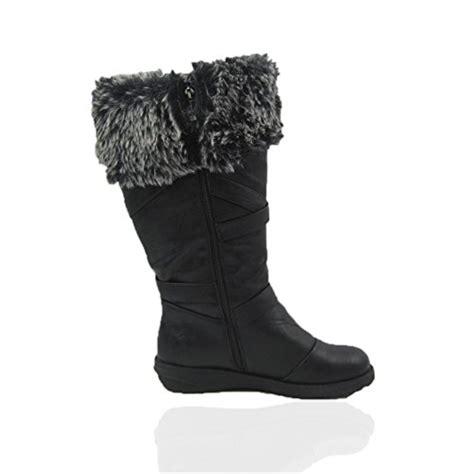 comfy moda s winter snow boots wide calf