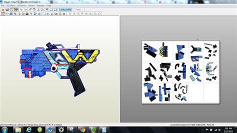Kamen Rider Helmet Papercraft - papercraft pdo file template for kamen rider w trigger