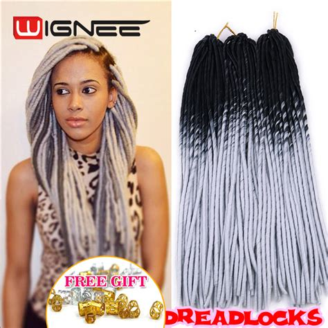 soft dread grey gray braid hair for sale aliexpress com buy 20 inch ombre black grey color faux