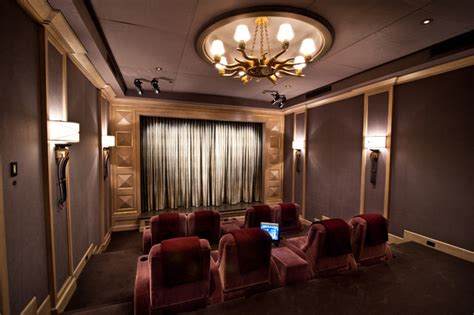 home theatre interior home theater traditional home theater los angeles