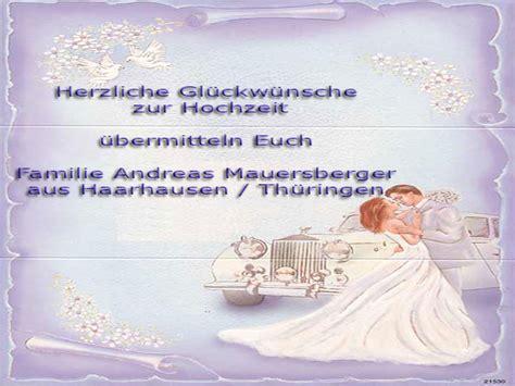 Gl Ckw Nsche Zur Hochzeit by Hochzeit Hochzeit Gl 252 Ckw 252 Nsche Proben