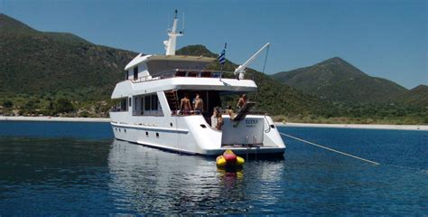 charter boat fishing greece greece power and motor yacht charters