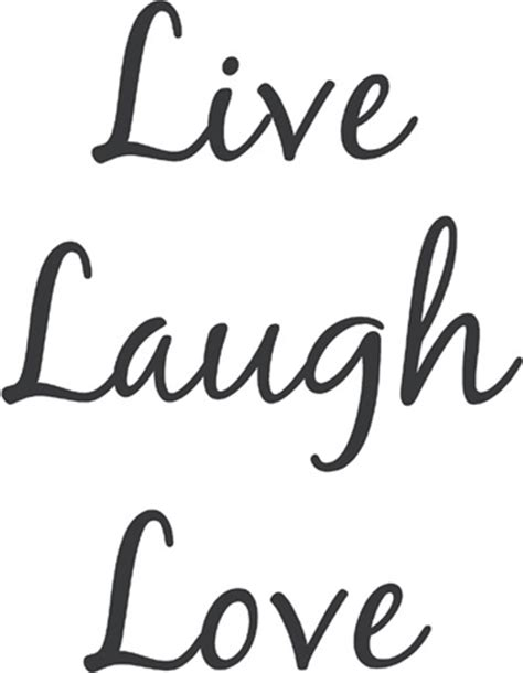 laugh live live laugh blackjack beautiful wall decals