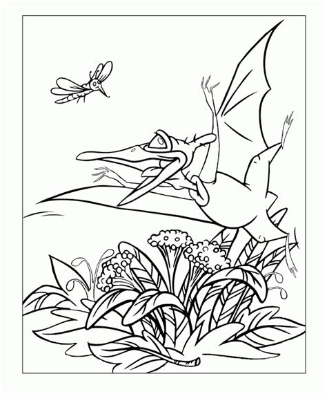 Land Before Time Coloring Page Coloring Home Land Coloring Pages