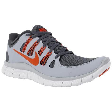 nike grey shoes nike free 5 0 s shoes grey orange grey