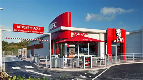 drive thru kfc please drive to the window innovation in on the go dining
