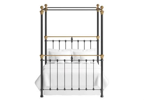 Metal 4 Poster Bed Frame Rannoch Iron Four Poster Bed The Original Bedstead Company