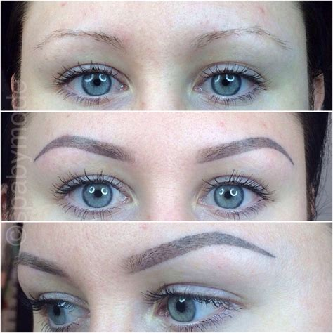tattooed eyebrows before and after permanent eyebrow makeup before and after search