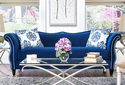 Blue Living Room Furniture Sets Blue Living Room Set Khosrowhassanzadeh