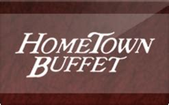 Old Country Buffet Gift Card - buy hometown buffet gift cards raise
