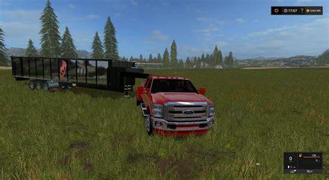 fliegl gooseneck tipper v 1 0 fs 17 farming simulator 17