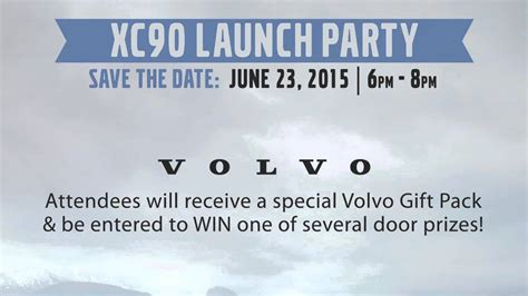 volvo  tacoma  volvo xc launch party youtube