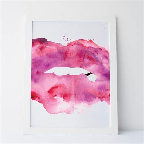 printable abstract wall art printable art abstract lips lips art lips prints