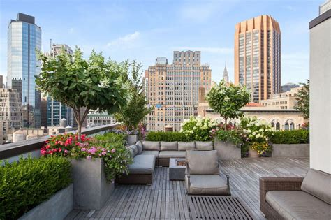 penthouse terrace score a pok 233 mon executive s new york city penthouse for