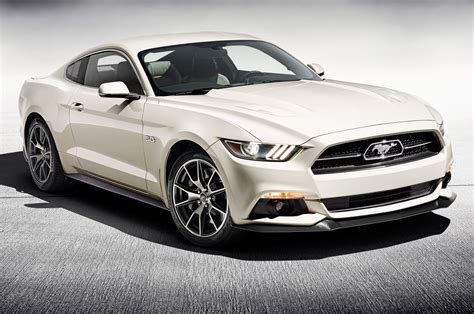 2015 ford mustang gt 50th anniversary edition front side