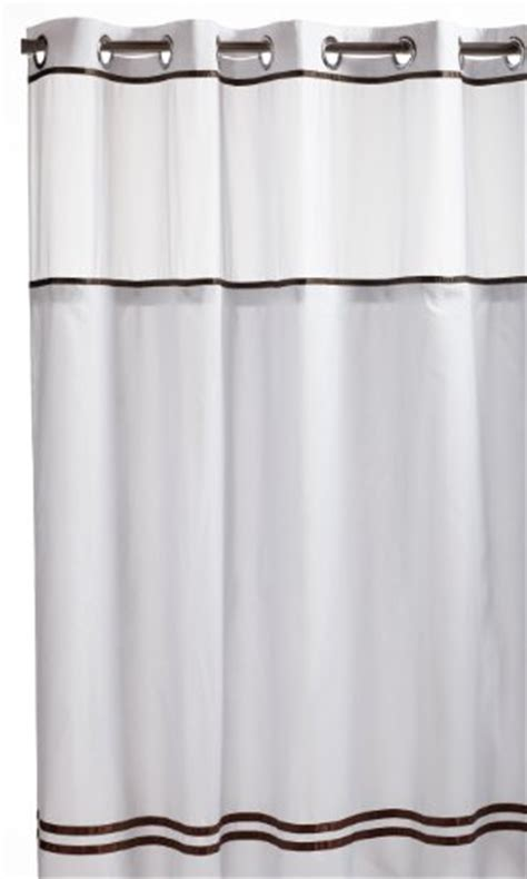 hookless shower curtain brown hookless fabric shower curtain with built in liner white brown curtain store