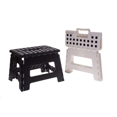 Tiny White Dots In Stool by Folding Step Stool Small White Black Dots