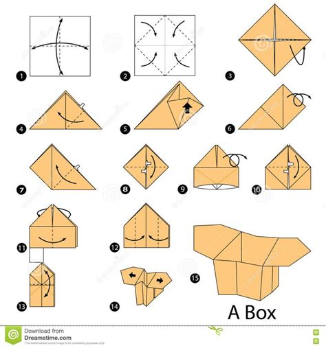 Steps To Make A Paper Box - origami best images about origami food on sushi origami