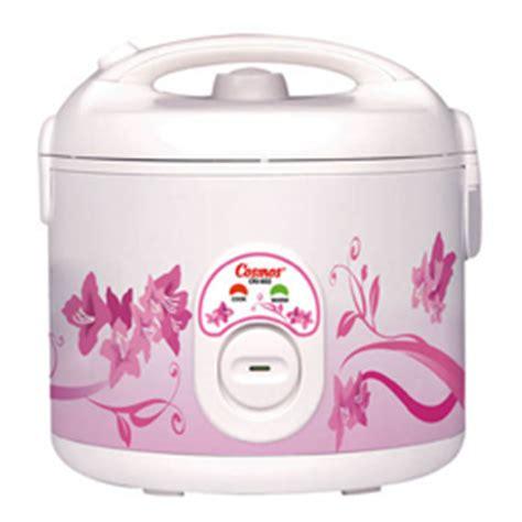 New Cosmos Rice Cooker Harmond 1 8l Crj 6305 harga rice cooker cosmos lengkap terbaru 2017 daftar