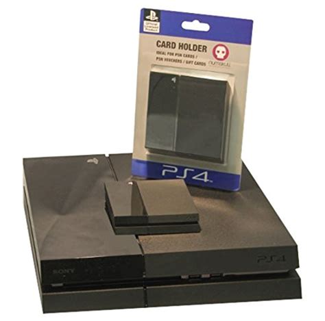 Amazon Ps4 Gift Card - official sony replica ps4 console gift card holder the video games
