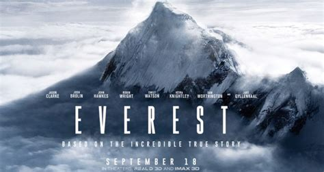film everest preview mount everest star of major motion picture gear junkie
