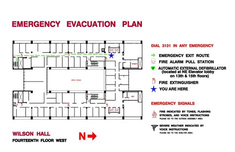 evacuation plan template for office ppd forms