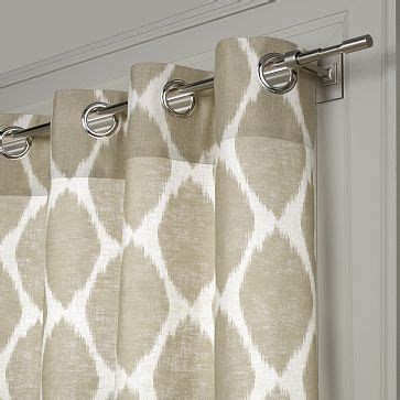 ikat curtains west elm nelsoncuper my curtain conundrum part two