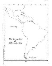 Latin America Blank Map by Blank Map Of Latin America Free Printable Maps