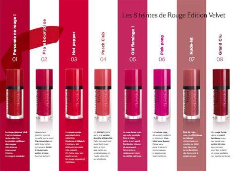 Lipstik Bourjois Matte 25 best ideas about bourjois velvet lipstick on