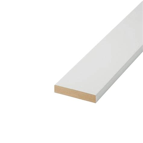mdf home depot finished elegance 1 in x 4 in x 16 ft 2ee mdf board 10003523 the home depot